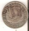 MONEDA DE PLATA DE LA REP. DOMINICANA DE MEDIO PESO DEL AÑO 1897  (COIN) SILVER,ARGENT. - Dominikanische Rep.