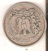 MONEDA DE PLATA DE LA REP. DOMINICANA DE MEDIO PESO DEL AÑO 1951  (COIN) SILVER,ARGENT. - Dominicaine