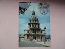 CARTE MAXIMUM MAXIMUM CARD HOTEL DES INVALIDES DE PARIS AVEC FLAMME FRANCE - Altri