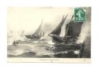 Cp, 14, Houlgate, Barques De Pêche, Voyagée - Houlgate