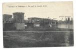 Chalampé (68) : Le Pont De Chemin De Fer En 1921 (animée) - Chalampé