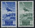 Lebanon C148-49 Mint Hinged UPU/Helicopter Airmail Set From 1949 - Lebanon