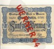 """Städte Notgeldscheine - Banknoten Während Der Inflationszeit V. 1917 Selb In Bayern 50 Pfg.  """"NOTGELD"""" (389) - Lokale Ausgaben"""
