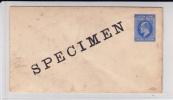 SIERRA LEONE - RARE ENVELOPPE ENTIER POSTAL SPECIMEN - Sierra Leone (...-1960)