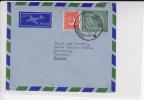 PAKISTAN - 1955 - ENVELOPPE Par AVION ENTIER AEROGRAMME De SADAR (KARACHI) Pour BRUCHSAL (GERMANY) - Pakistan