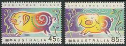 Christmas Island 1995 Mi 405 ** Year Of The Pig - Chinese New Year / Schwein -Jahr Des Schweines - Chinesisches Neujahr - Astrologie