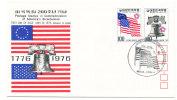 Korea South FDC 5-8-1976 U.S. Bi-Centennial 1776 - 1976 With Cachet - Independecia USA