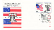 Korea South FDC 5-8-1976 U.S. Bi-Centennial 1776 - 1976 With Cachet - Us Independence