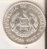 MONEDA DE PLATA DE GUATEMALA DE 50 CENTAVOS DEL AÑO 1963  (COIN) SILVER,ARGENT. - Guatemala