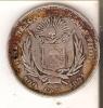MONEDA DE PLATA DE EL SALVADOR DE 50 CENTAVOS DEL AÑO 1894  (COIN) SILVER,ARGENT. - El Salvador