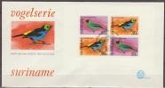 Suriname, 1977, Tropical Birds, Block, E0014A1, FDC - Non Classificati