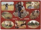 1189-France 87-Haute Vienne-Travaux Des Champs-Multivues - Agriculture