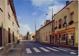 77 VARREDDES - La Rue Victor Clairet - Maison De La Presse... - CPSM - Sonstige Gemeinden