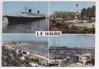 REF 73 -- 76 -- CPSM LE HAVRE Multi Vues LE FRANCE - Haven