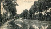 CPA 58 DECIZE LES FEUILLATS VUE SUR LE CANAL 1918 - Decize