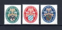 Armoiries, Prusse, Bavière, Saxe, 368 / 370**, (Mi 375/77), Cote 45 €, - Deutschland