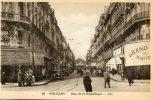 CPA 45 ORLEANS RUE DE LA REPUBLIQUE Animée Commerces - Orleans