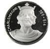 Charlemagne  - Médaille En Argent - 34mm - 16,98gr. - France