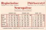 HYGIOCHOLINE PHLEBOCRATYL NEUROLAGENE  LABORATOIRES SOPHYTA A PARAY LE MONIAL - Chemist's