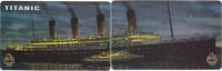 Puzzle 2 Telecartes Titanic (Gebruikt,Used) - Schiffe