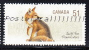 Canada Used Scott #2173d 51c Swift Fox - Used Stamps