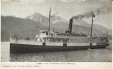 P.C Co Pacific Steamship 'City Of Seattle' On Alaska Coast, C1910s Vintage Postcard - Dampfer