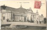 CPA Avec Vue Du Grand Palais De PARIS Affranchie D'un Semeuse Lignée Et Cachet Verdun-sur-Meuse - Marcophilie (Lettres)