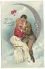 107. PFB Valentine Card With Moon - Valentine's Day
