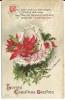 110. Ellen H. Clapsaddle Christmas Postcard No.1457 - Christmas
