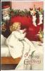 123. Santa Postcard Copyright 1908 By International Art Pub. Co - Santa Claus