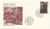 Cyprus Greece FDC 5-7-1976 U.S. Bi-Centennial 1776 - 1976 With Cachet - Independecia USA