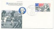 Senegal FDC 19-6-1976 U.S. Bi-Centennial 1776 - 1976 With Cachet - Unabhängigkeit USA