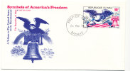Mali FDC 24-5-1976 U.S. Bi-Centennial 1776 - 1976 With Cachet - Independecia USA