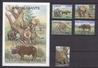 PGL AA0590 - TANZANIA Yv N°3193/97 + BF ** ANIMAUX ANIMALS - Tanzanie (1964-...)
