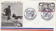 56  BADEN  Dieudonné Coste 1892/1973  Joseph Le Brix 1899/1931 - Flugzeuge