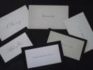 Lot De 6 CARTES De VISITE - Diverses - Non écrites - A VOIR ! - Cartes De Visite