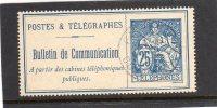 France:année:1900-06 (bulletin De Conversation ,sans Fond De Fond De Sûreté) N° 24 - Télégraphes Et Téléphones