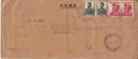 1956  Registered Letter From Ihu To Port Moresby   Registration Label Removed. - Papua New Guinea