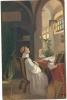 """M. Martinkové """"Le Messager Du Printemps"""", Ref 1206-039 - Peintures & Tableaux"""