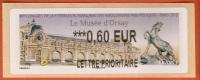 VIGNETTE LISA 2 - SALON TIMBRE 2012 - LE MUSEE D´ORSAY - MENTION 0,60 EUR LETTRE PRIORITAIRE - NEUF - Vignettes D'affranchissement