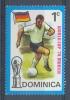 Rep. DOMINICA :1974: Y.390**MnH : FOOTBALL,WORLDCUP MUNICH 1974, - Coppa Del Mondo