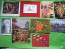 Lot De 10 Cartes Fantaisie-et Autres-chevaux--chien- Breughel-.david Teniers-manet-renault-rou Get De L´isle-kono Etc... - Cartes Postales