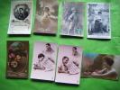 Lot De 8 Cartes Fantaisie-et Autres-pc 5337--dix 1125/3-furia 681-?608--reverie Jc Paris-as 4189- - Cartes Postales