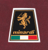 Team MINARDI - Italie - Grand Prix - Autocollants