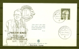 Lions Club, DEUTSCHE BUNDESPOST, FDC, 13/01/1975, Melvin Jones DUSSELDORF (GA2088) - Rotary Club