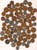 Lot De Monnaie En Vrac /ANGLETERRE/70piéces/20 éme Siécle      BIL13 - Coins & Banknotes
