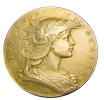Médaille - Concours De Tir - Ministère De La Guerre - Argent Doré ( Vermeil) - 51mm - 66,31gr. -. Ttb - Professionals / Firms