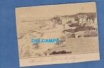 - ARCACHON - Vue Sur La Plage - Une Villa - Début 1900 - Arcachon