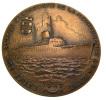 Médaille - Ville De Marseilles - Cie Générale Transatlantique - La Seyne - 1949 - 82,62Gr. - 55mm -TTB - Professionals / Firms
