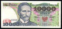 10000 Zloty POLOGNE 1988 - Poland